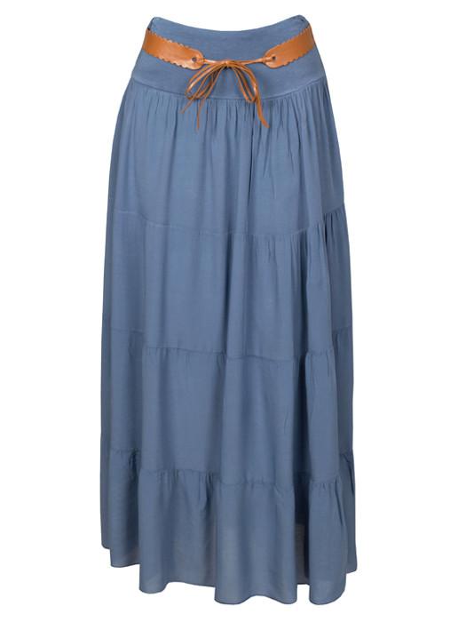 Van Fashionize Maxi Rok Blauw Prijsvergelijk nu!