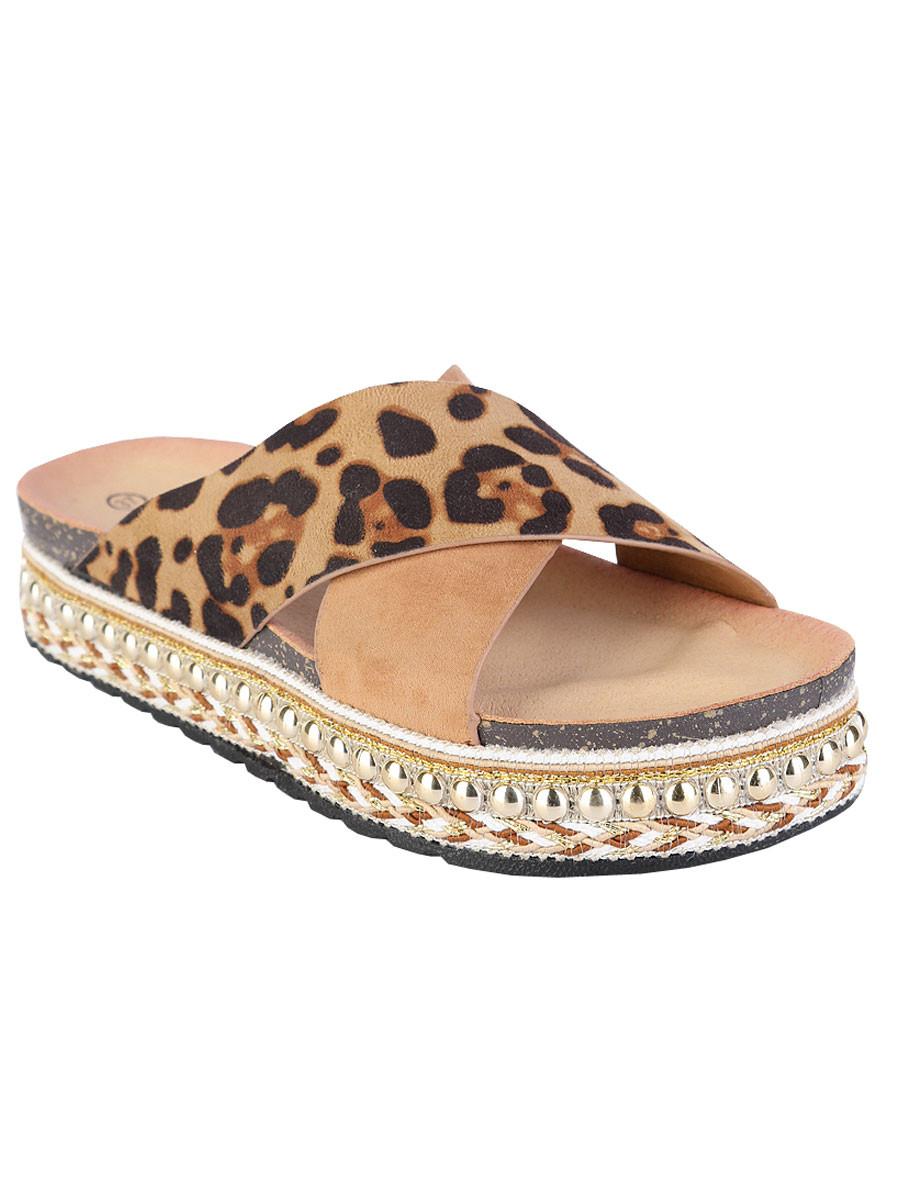 Sandalen Ibiza Leopard
