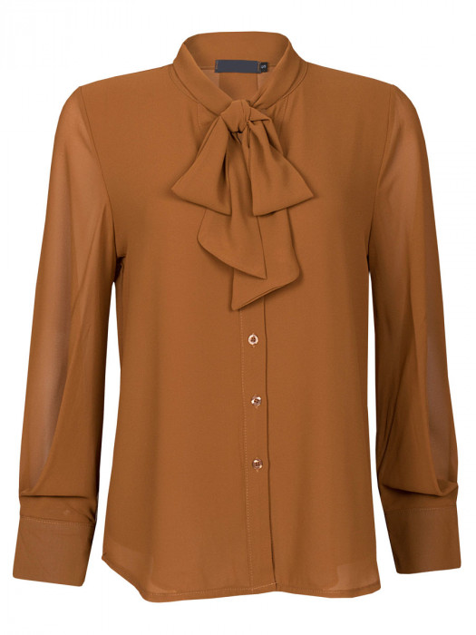 Blouse Strik Camel