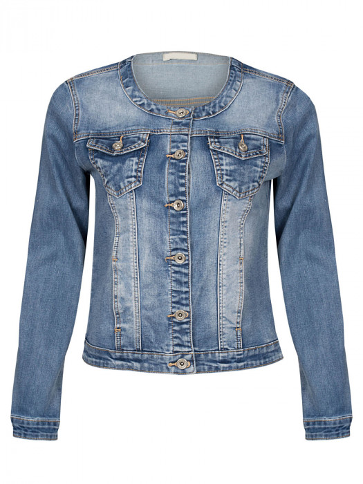 Jeans Jacket Fleur