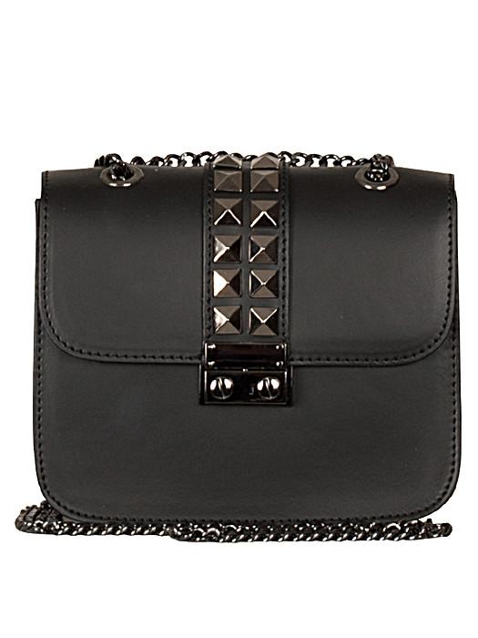 Leather Bag Studs Black