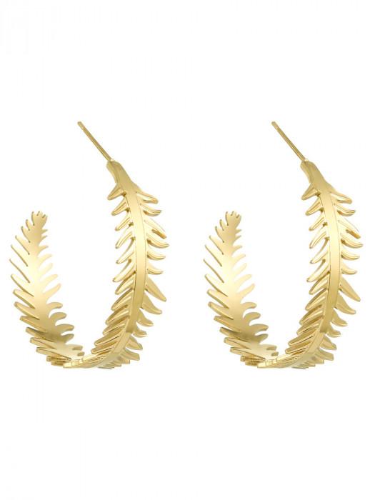 Oorbellen Palm Goud
