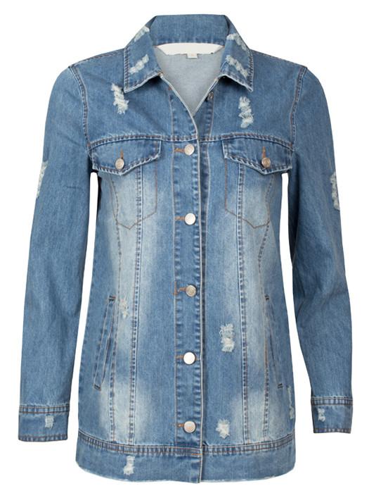 Van Fashionize Jeans Jacket Long Prijsvergelijk nu!