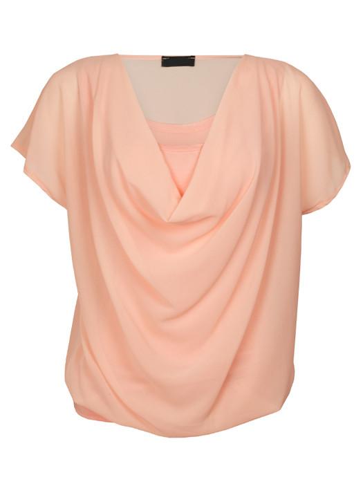 Top Blouson Pink