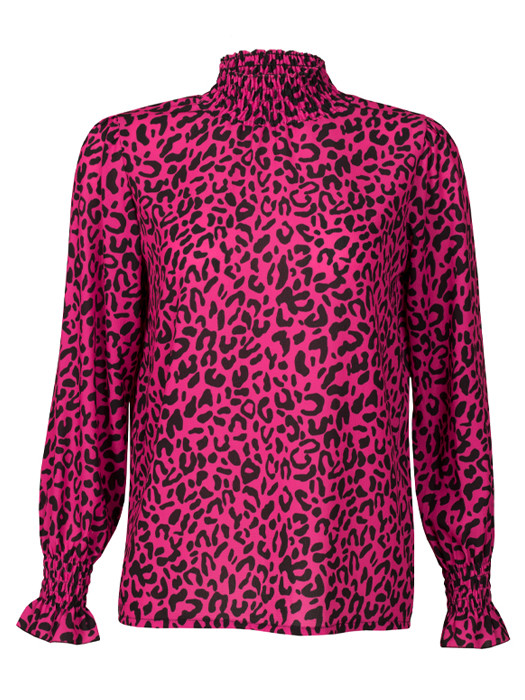 Top Leopard Pink