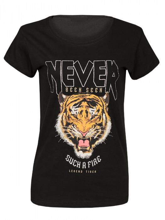 Shirt Legend Tiger Zwart