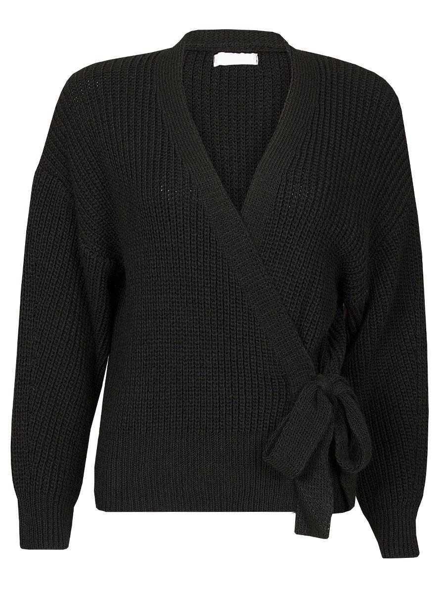 Wikkelvest Luxe Zwart