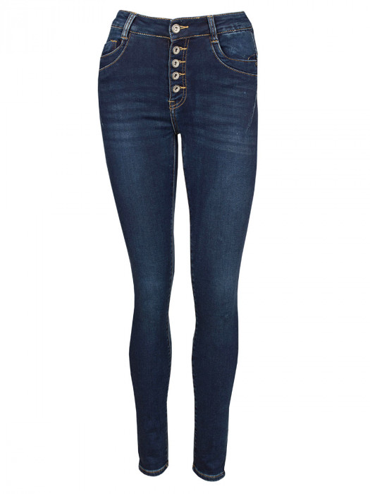 Norfy Jog Jeans Blauw
