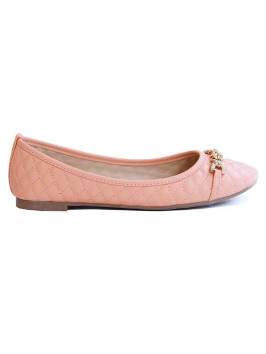 Van Fashionize Ballerina Glam Salmon Prijsvergelijk nu!