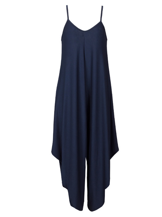 Image of Comfy Jumpsuit Navy