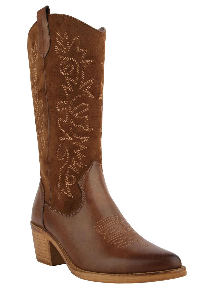 Laarzen Cowboy Bruin
