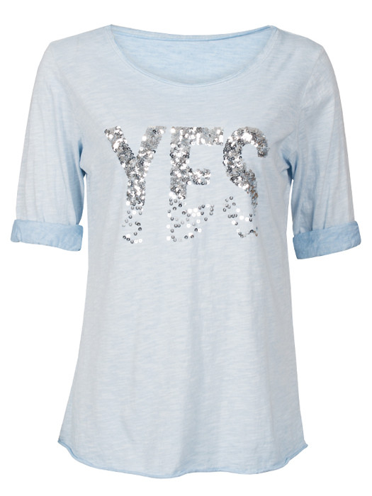 Shirt Yes Blue