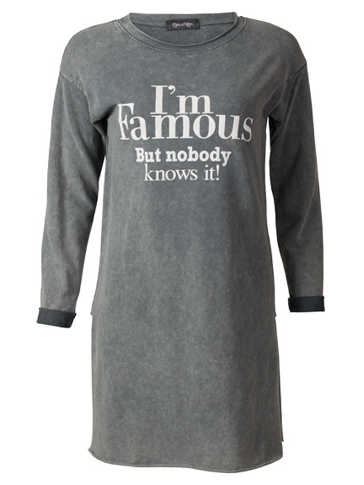 Sweater Famous Gray