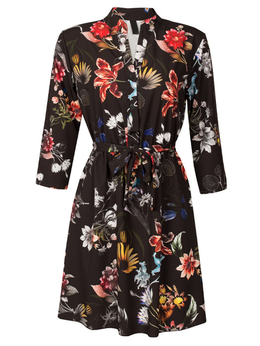 Dress Iris Black