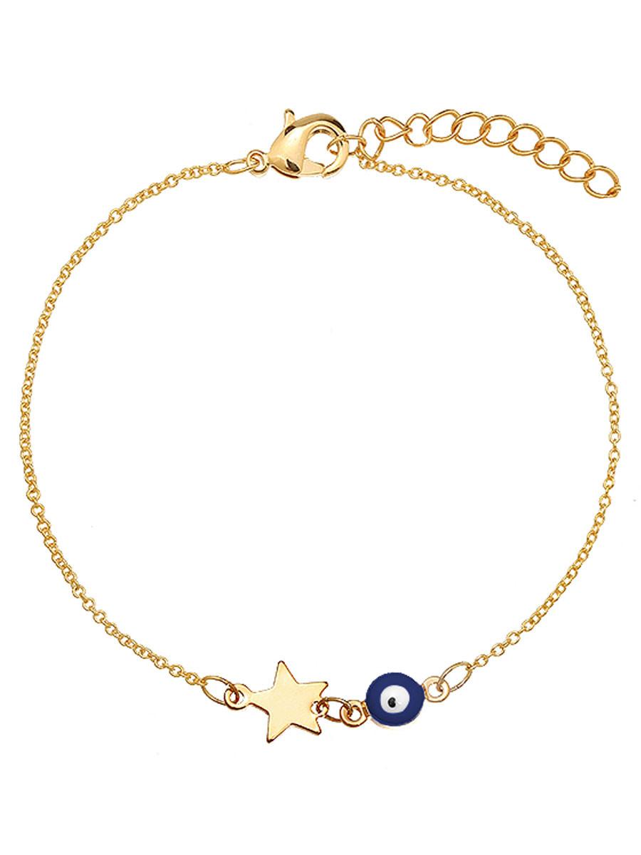Van Fashionize Armband Eye Star Navy Prijsvergelijk nu!
