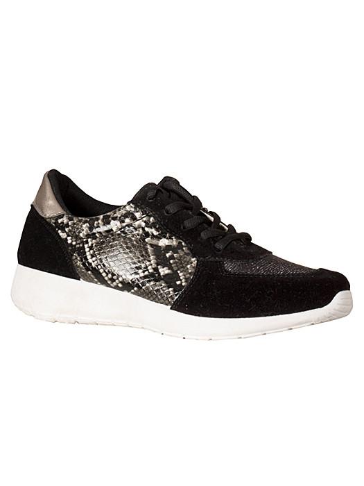 Sneakers Snake Black