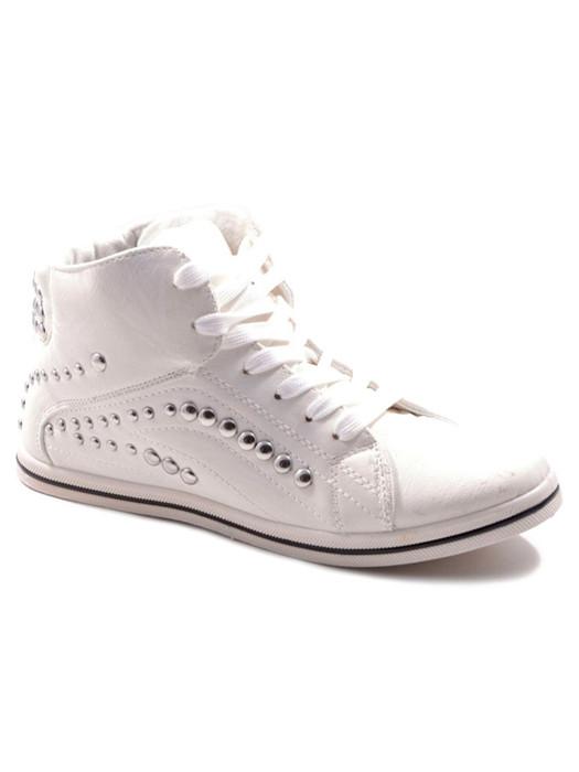 Van Fashionize Sneakers Studded White Prijsvergelijk nu!