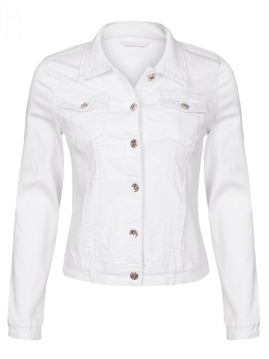Jeans Jacket Stretch Wit