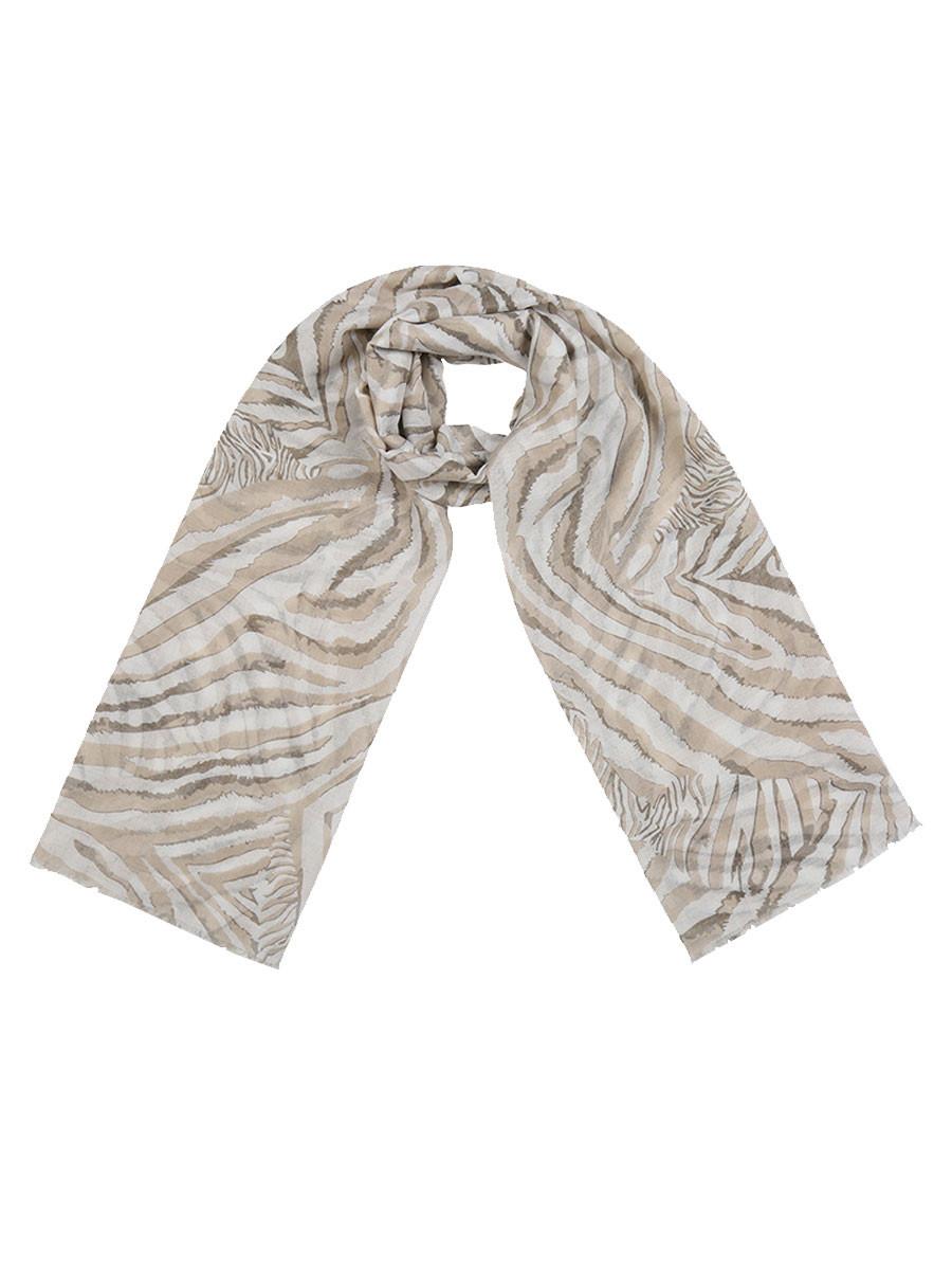 Sjaal Zebra Beige