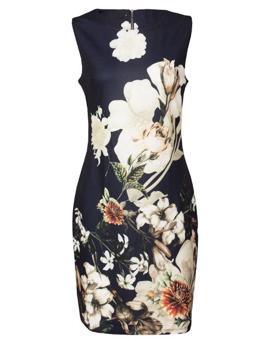 Dress Louise Navy