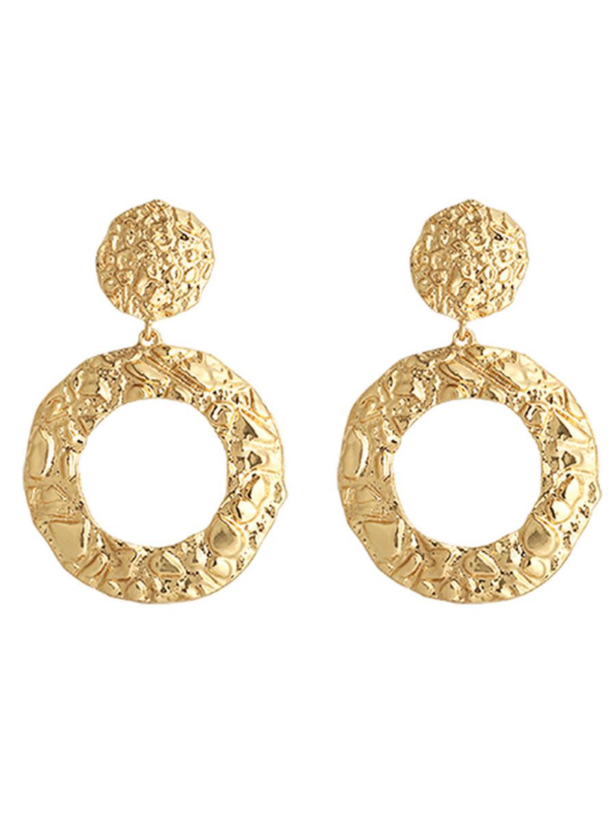 Image of Oorbellen Glamour Gold