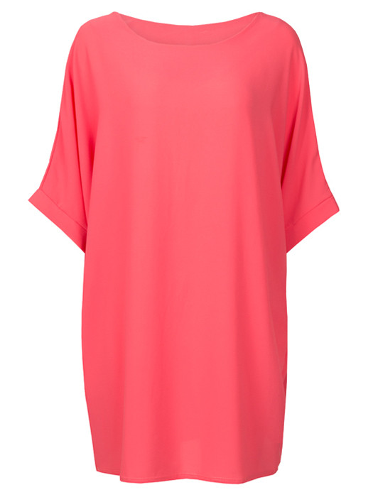 Comfy Dress Coral