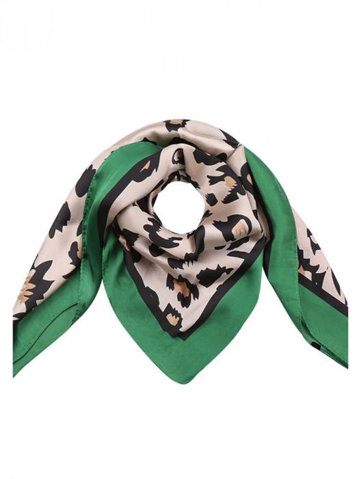 Sjaal Leopard Groen
