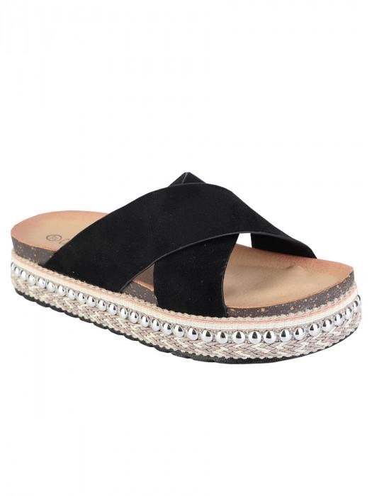 Sandalen Ibiza Zwart