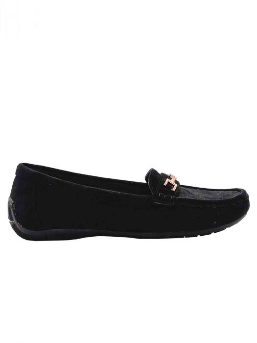 Mocassins Luxe Zwart