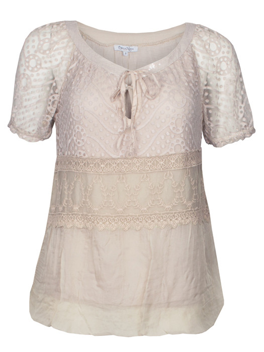 Top Lace Beige