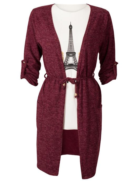 Vest Bordeaux & Shirt Paris