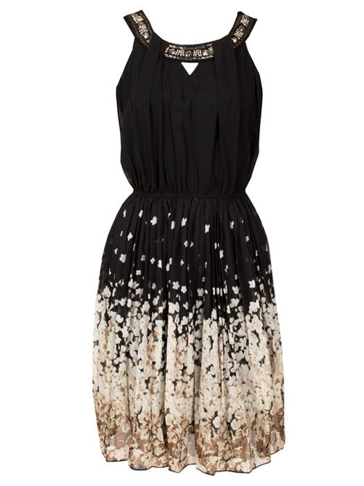 Dress Blossom Black