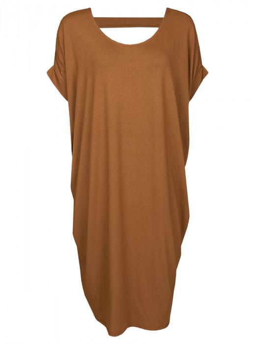 Jurk Comfy Camel