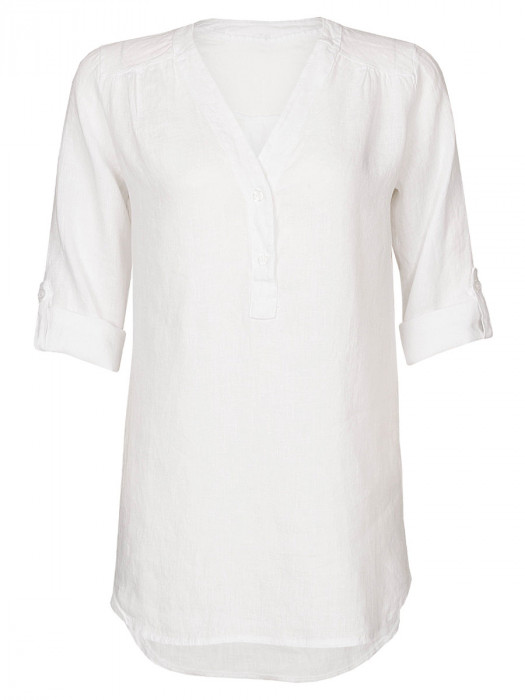 Blouse Linnen Wit
