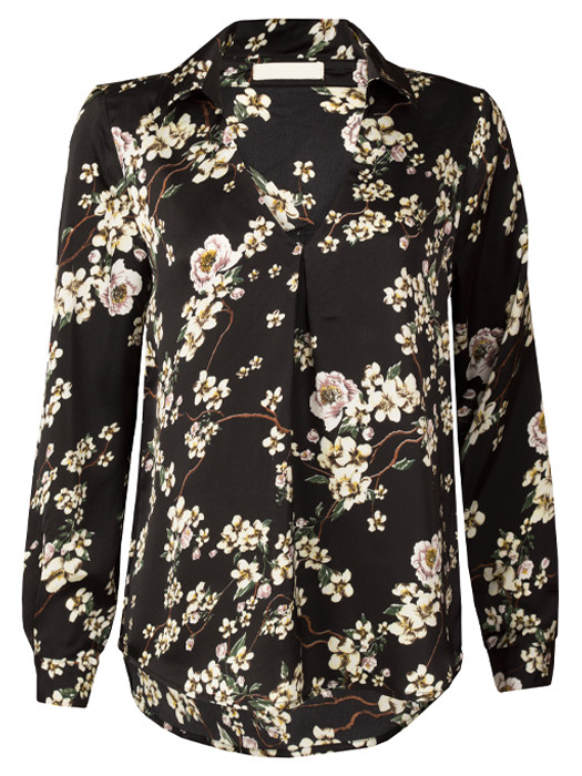 Blouse Blossom Black
