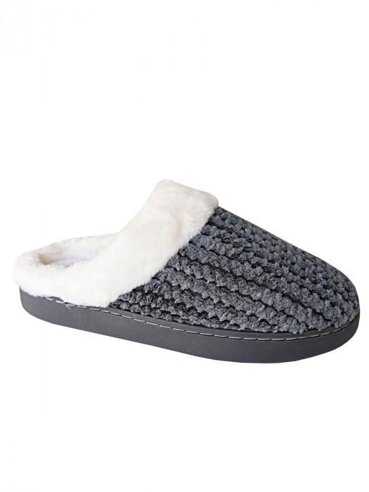 Pantoffels Bont Grijs
