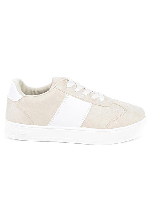 Sneakers Sparkling Beige