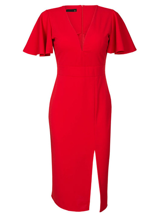 Image of Dress Kendall Red