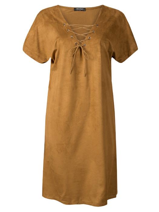 Dress Suède Camel