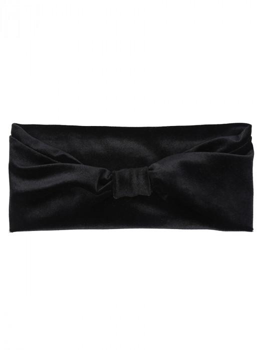 Haarband Fluweel Zwart