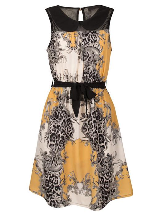 Image of Dress Florance Oker