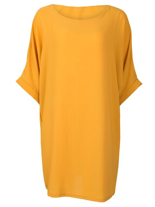 Comfy Dress Oker