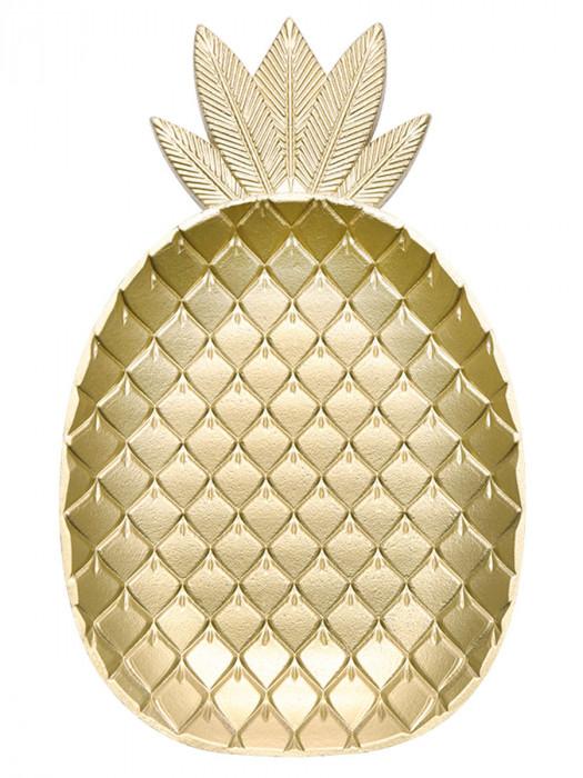 Sieraden Schaal Ananas