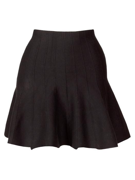 Image of Skater Skirt Black