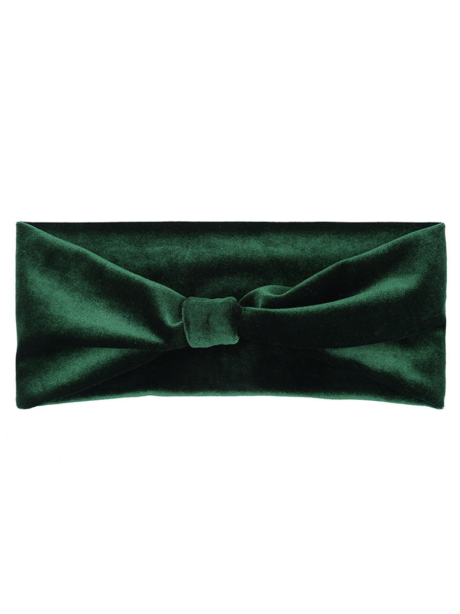 Image of Haarband Fluweel Groen