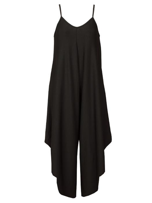 Image of Comfy Jumpsuit Black