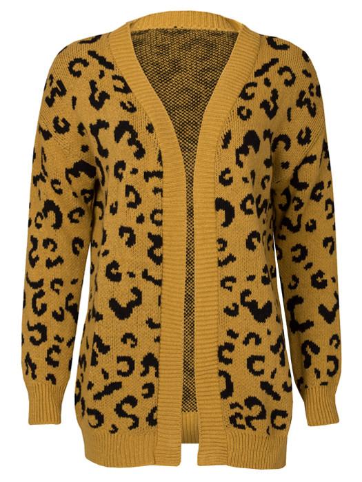Vest Leopard Oker