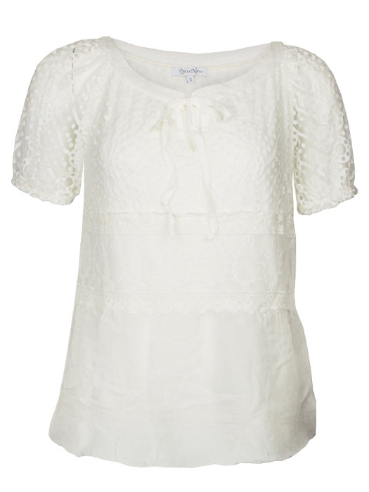 Top Lace Off-White