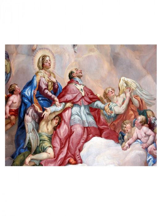 Maria met Engelen 50x40 Diamond Painting