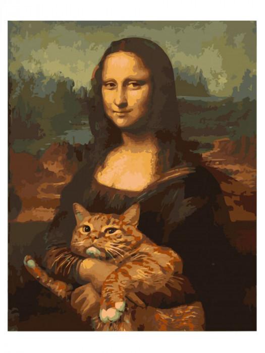 Mona Lisa 50x40 Schilderen op Nummer